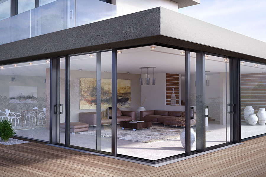 Minimal Sliding insulated system SUPREME S650 PHOS